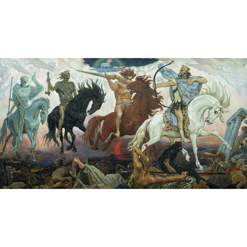 Viktor Vasnetsov (1887) Apokalüptilised sõdalased